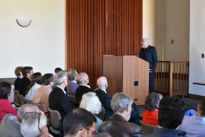 Audience backs_Feldstein podium